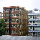 ヤンゴン住宅街@ミャンマー