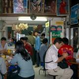 アウンサン・マーケット内喫茶店@ミャンマー
