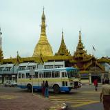 スーレー・パゴダ@ミャンマーヤンゴン