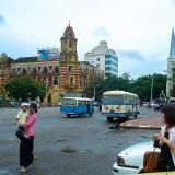 ビクトリア様式の建物@ミャンマーヤンゴン