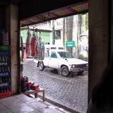 アウンサン・マーケットの路地@ミャンマー
