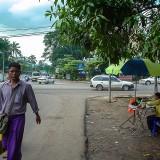 ヤンゴン市街(郊外)@ミャンマー
