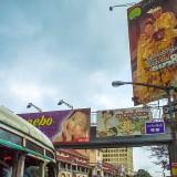 アウンサン・マーケットの歩道橋@ミャンマー