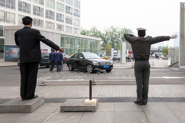 人形のように@北京建外SOHO