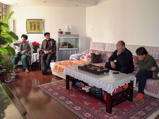 北京の王一家