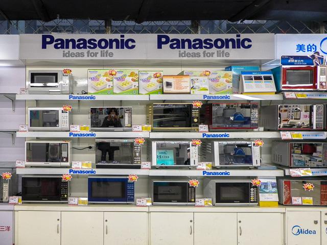 Panasonic製品@北京のカルフール