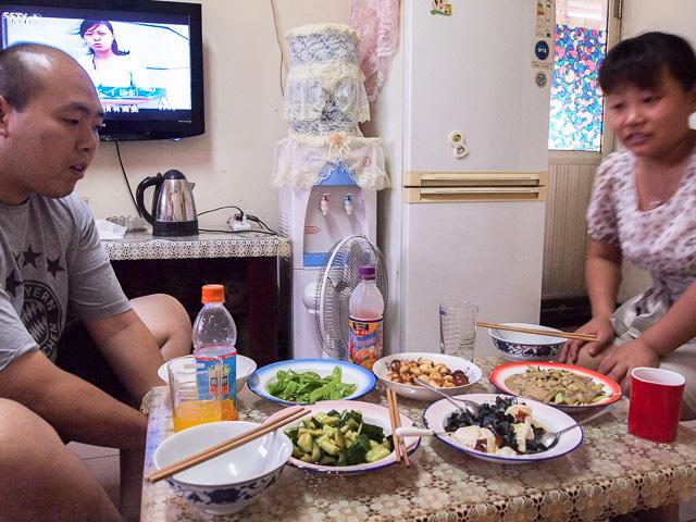 北京の家庭料理@北京前門