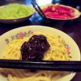 炸醤麺(ジャージャー麺)の作り方15@北京王さんち