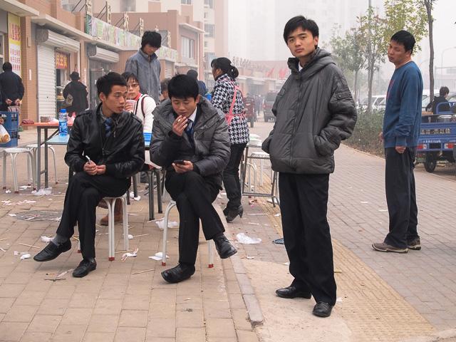 イメージ写真(郊外の朝@北京)