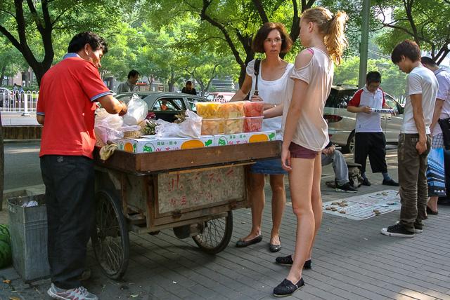 北京三里屯にて(イメージ画像)