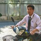 中国男子ネクタイ姿@北京