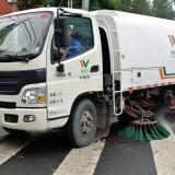 道路清掃車 雨の日に道路清掃?@北京