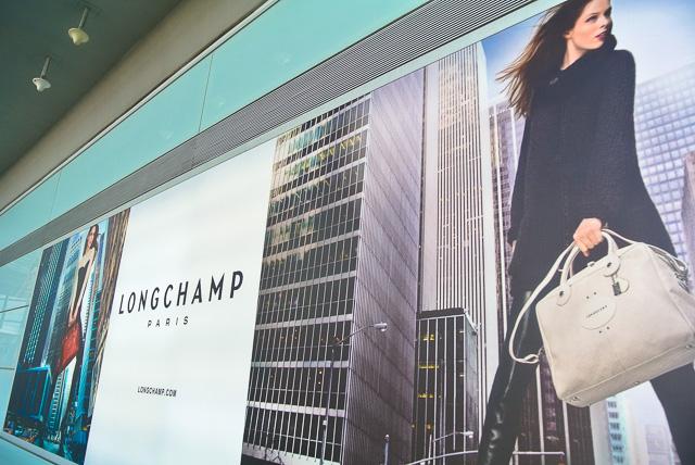 ロンシャンの広告@北京首都国際空港