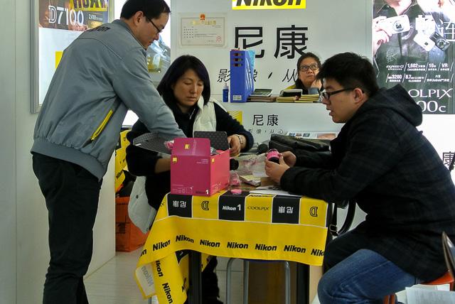 尼康とは俺のことかとNikon言い@上海星光撮影器材城