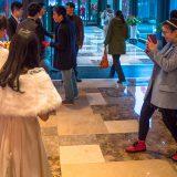 ゲストの服装はカジュアル@紹興咸亨酒店