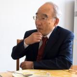 自慢の日本式カレーライスで昼食 東和男総経理@JAPIC共用棟食堂