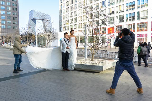 結婚アルバム撮影@北京建外SOHO