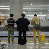 この中に日本人は何人いるでしょう@上海浦東空港