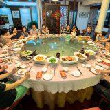 一族の食事会に招かれた@紹興