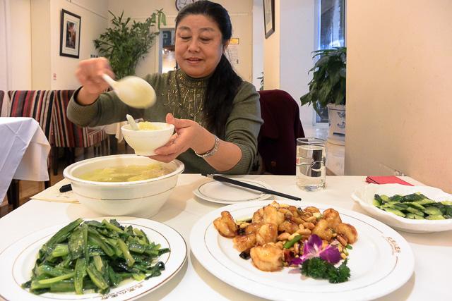 会計士の黄先生と食事@北京の小王府
