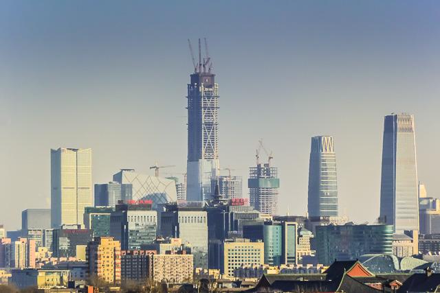 2017年の国貿(CBD)は建築ラッシュ@北京